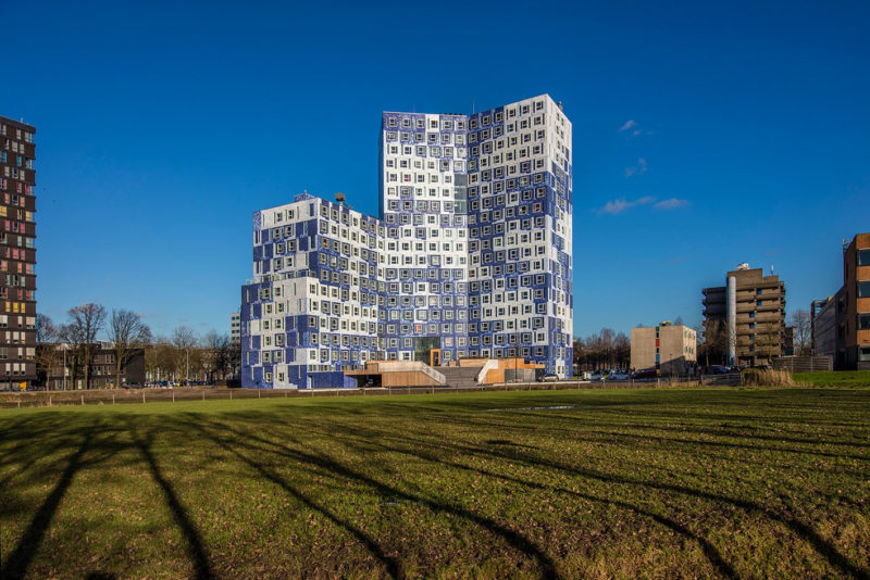 Recystel stelkozijnprofielen - 02-studentenhuisvesting-Johanna-Onix-NL-Campus-Utrecht-Michael-van-Oosten - Studentenhuis Johanna