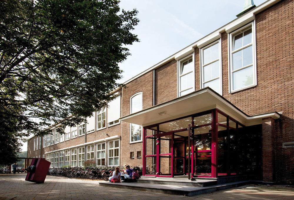 Recystel stelkozijnprofielen - Gymnasium Felisenum - Velsen Zuid